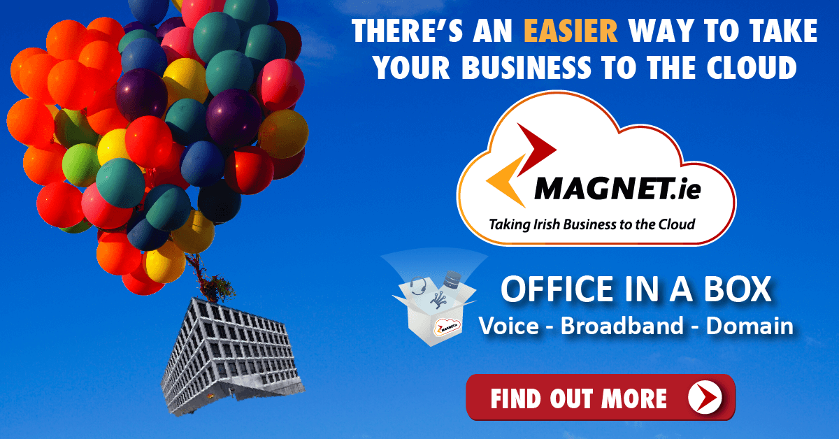Office in a Box: voice, broadband & domain. All your telecoms needs in one fixed monthly charge including unlimited calls.