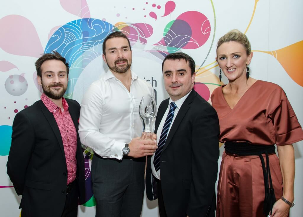 Magnet wins the Best Cloud Service for SMEs in Ireland Dot ie Net Visionary Award.