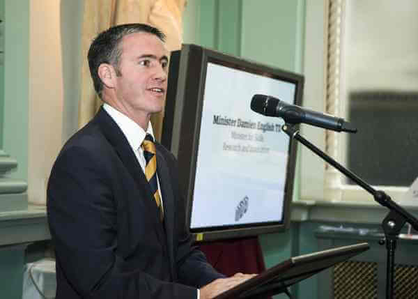 tech-100-launch-Damian-English-Minister-for-Skills-Research-and-Innovation