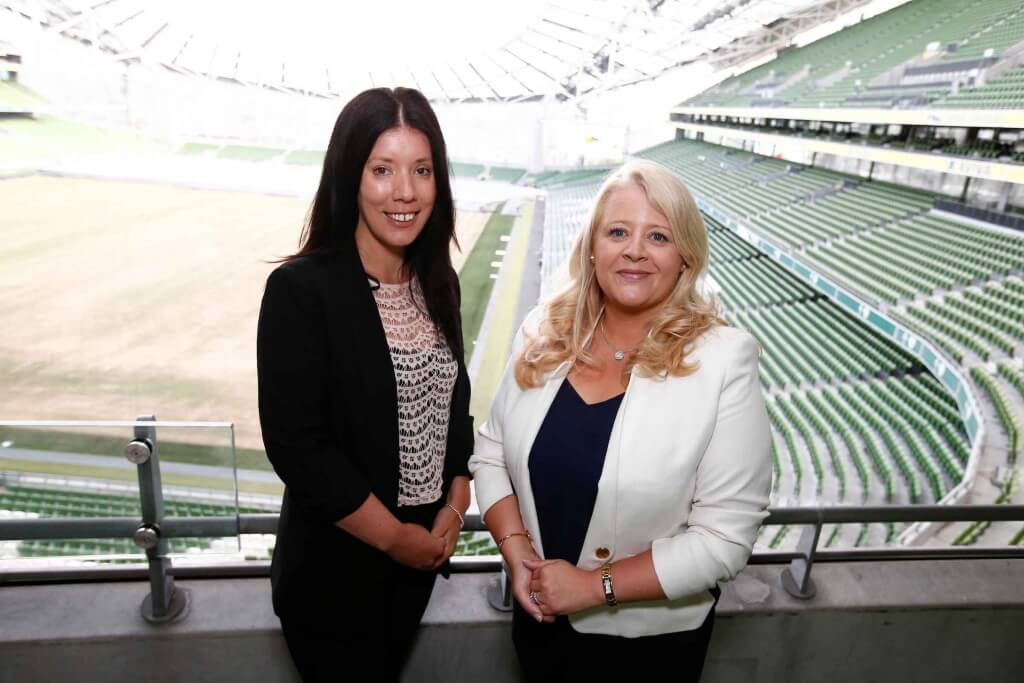 Ailish O'Connor, Strategic Director of Accounts and Louise McKeown, Director of New Corporate and Business Sales, Magnet Networks