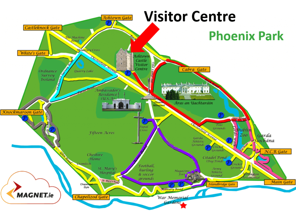 Meet Nicolas Roche in Phoenix Park at the Visitor Centre.