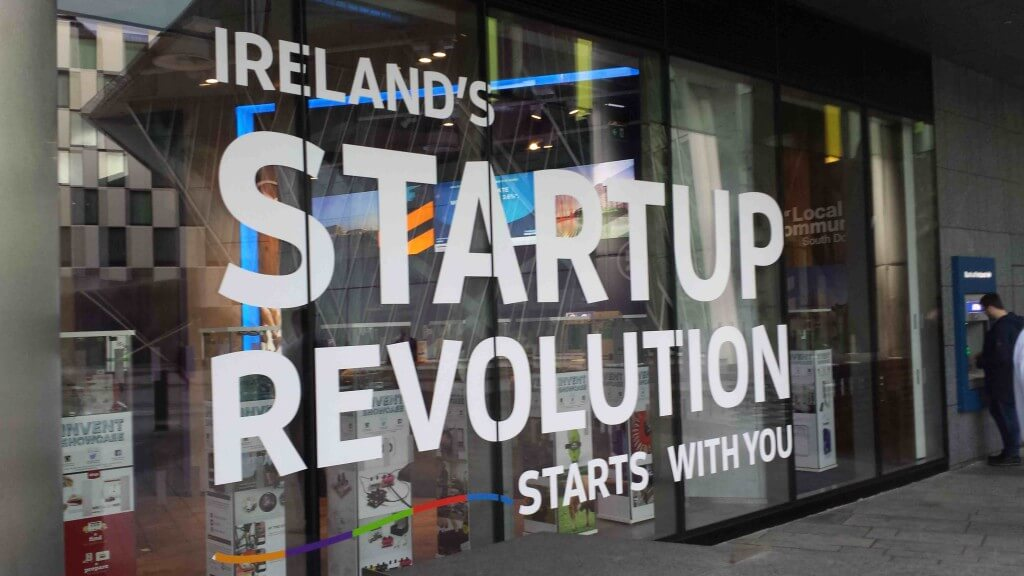 Startup Gathering Irish Invent showcase