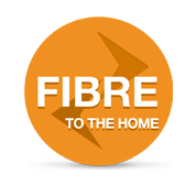 High speed fibre broadband directly to your home.